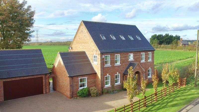 5 Bedrooms Detached House for sale in Thorpe Road, Whisby, Lincoln
