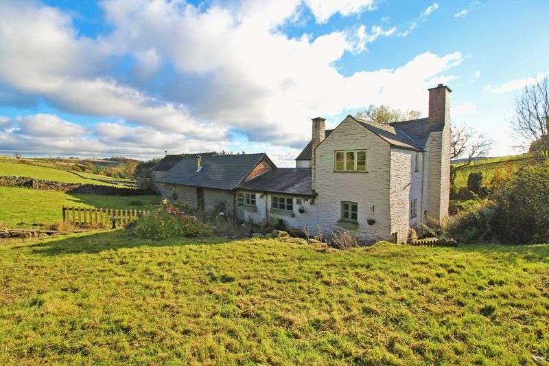 4 Bedrooms Detached House for sale in Pontfadog, Llangollen
