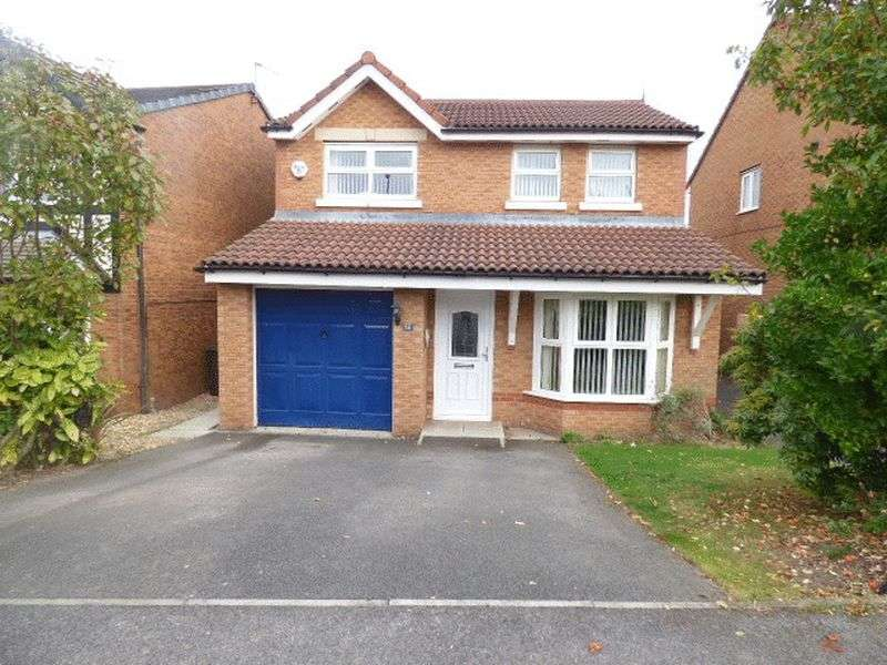 3 Bedrooms Detached House for sale in Saxon Way, Littledale Estate, Kirkby