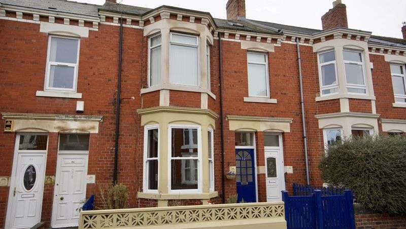 2 Bedrooms Flat for sale in TREWHITT ROAD Heaton