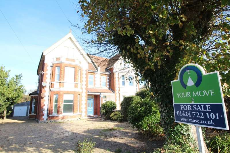 2 Bedrooms Flat for sale in Wrestwood Road, Bexhill-On-Sea, TN40