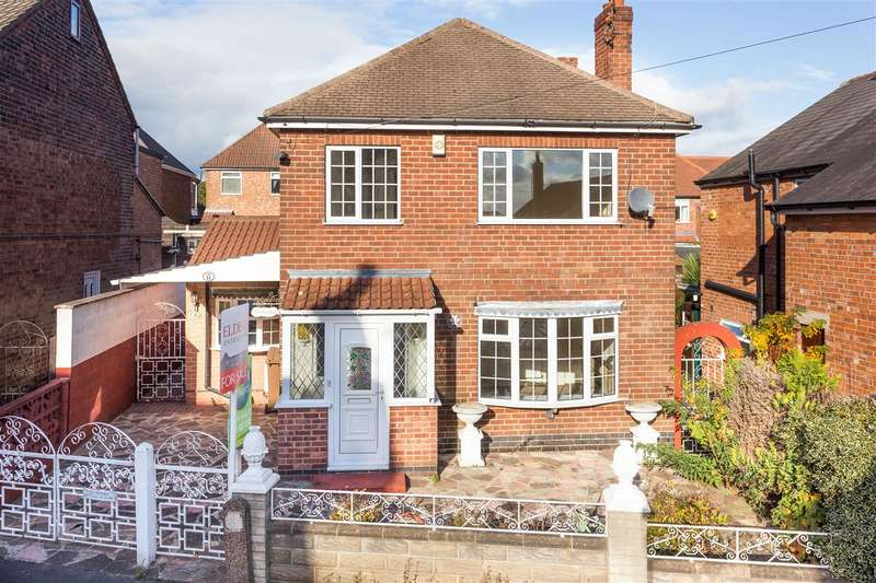 3 Bedrooms Detached House for sale in Wade Avenue, Ilkeston