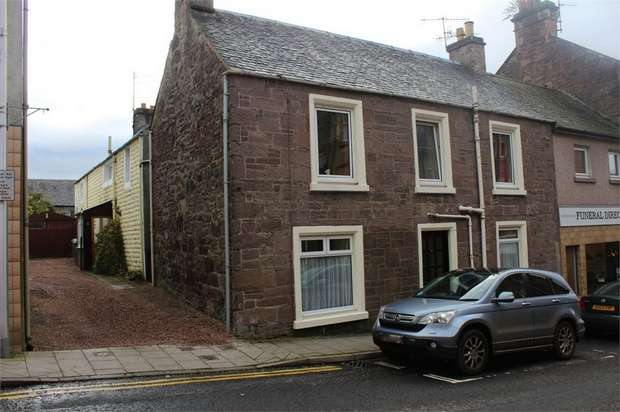 2 Bedrooms End Of Terrace House for sale in King Street, Crieff, Perth and Kinross