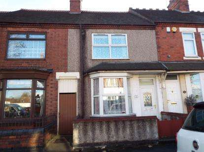 3 Bedrooms Terraced House for sale in Arbury Road, Nuneaton, Warwickshire
