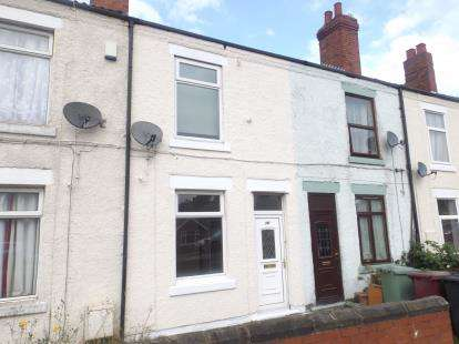 2 Bedrooms Terraced House for sale in Williamthorpe Road, North Wingfield, Chesterfield, Derbyshire