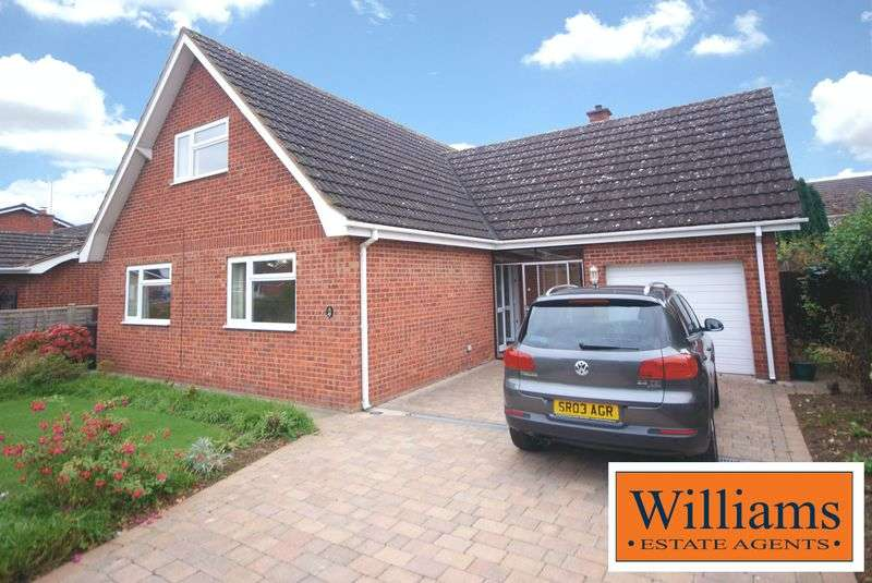 4 Bedrooms Detached House for sale in Hillary Drive, Hereford