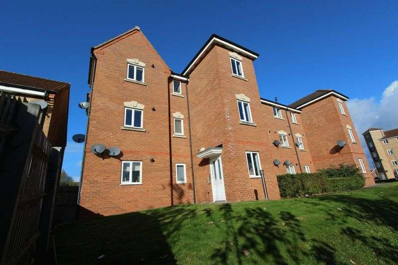 2 Bedrooms Flat for sale in Middle Meadow, Tipton