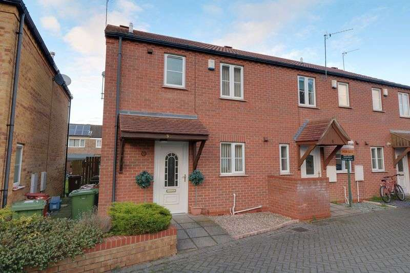 3 Bedrooms Terraced House for sale in Foxton Way, Brigg