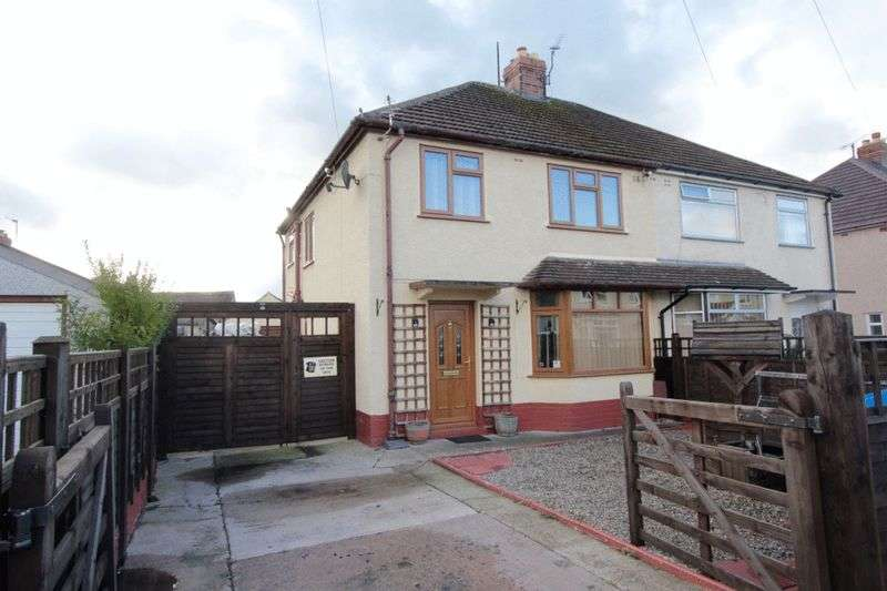 3 Bedrooms Semi Detached House for sale in Trewen, Denbigh