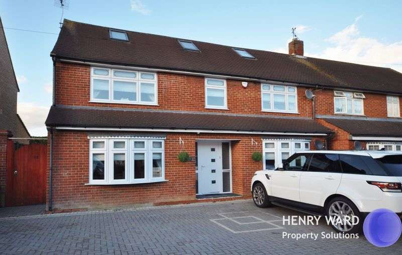 5 Bedrooms Semi Detached House for sale in Monkswood Avenue, Waltham Abbey