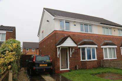 3 Bedrooms Semi Detached House for sale in Ribble Road, Platt Bridge, Wigan, Greater Manchester, WN2