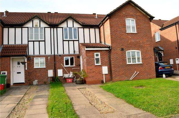 2 Bedrooms Terraced House for sale in Marlborough Drive, Sydenham, Leamington Spa, Warwickshire