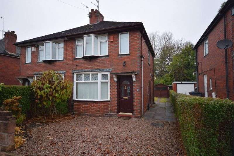 2 Bedrooms Semi Detached House for sale in Barry Avenue, Bucknall