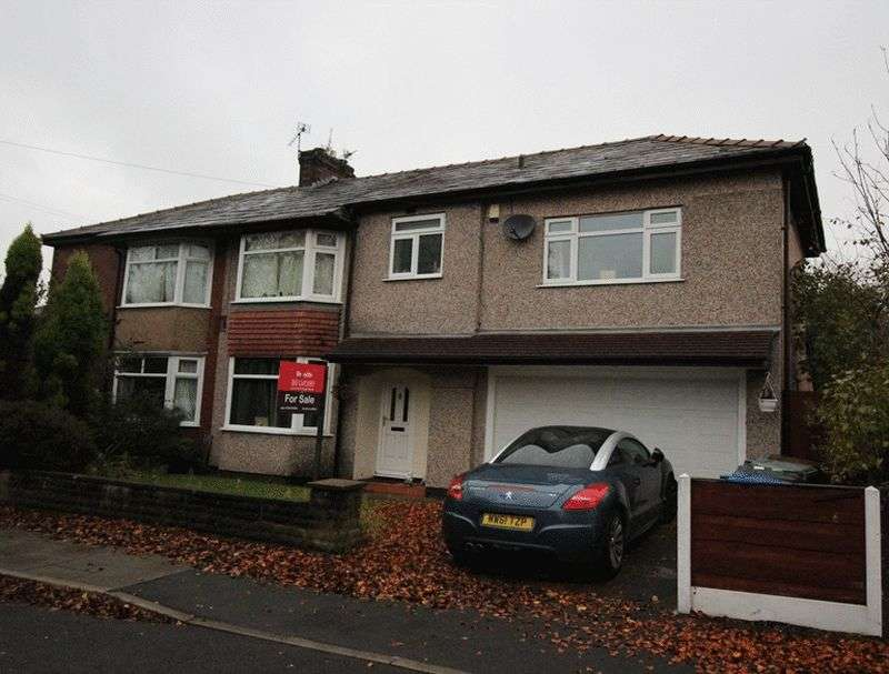 4 Bedrooms Semi Detached House for sale in Craig Avenue, Bury.