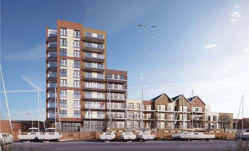 1 Bedroom Flat for sale in Viewpoint, Harbour Road, Gosport