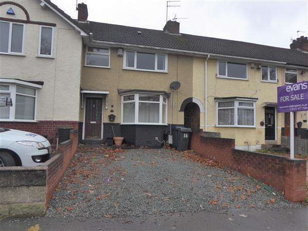 3 Bedrooms Terraced House for sale in Sir Hiltons Road, West Heath, Birmingham