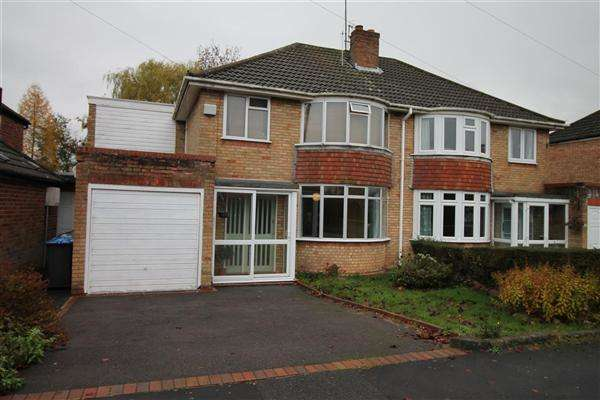 4 Bedrooms Semi Detached House for sale in Wickham Road, Studley, Studley