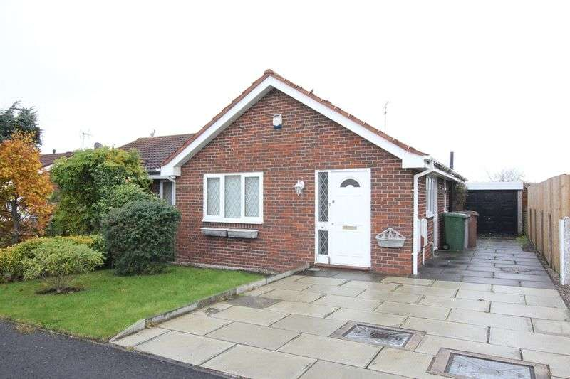 2 Bedrooms Semi Detached Bungalow for sale in Copeland Close, Pensby, Wirral