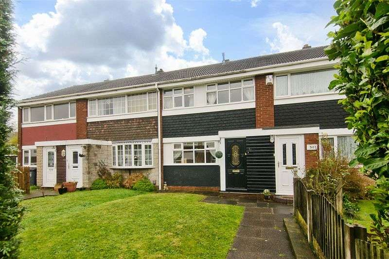 3 Bedrooms Terraced House for sale in Leafenden Avenue, Burntwood