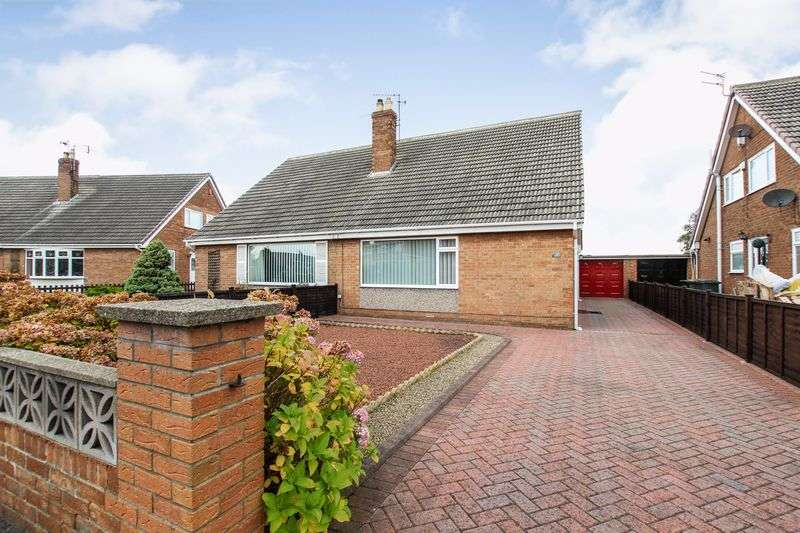 3 Bedrooms Semi Detached Bungalow for sale in Keswick Road, Redcar