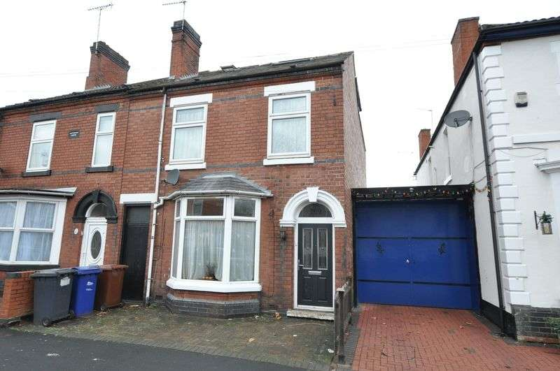 5 Bedrooms Semi Detached House for sale in Shobnall Street, Burton-On-Trent
