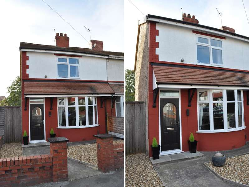 2 Bedrooms Semi Detached House for sale in Ellesmere Road, South Shore, Blackpool, FY4 3DH