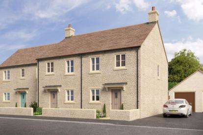 3 Bedrooms Terraced House for sale in Highfields, London Road, Tetbury, Gloucestershire