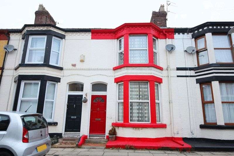 2 Bedrooms Terraced House for sale in Belhaven Road, Mossley Hill, Liverpool, L18