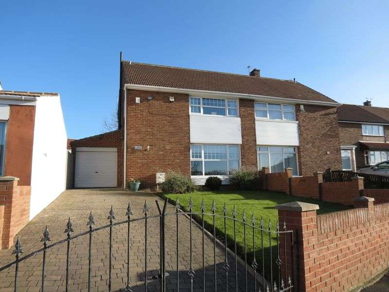 3 Bedrooms Semi Detached House for sale in Crawford Avenue, Peterlee