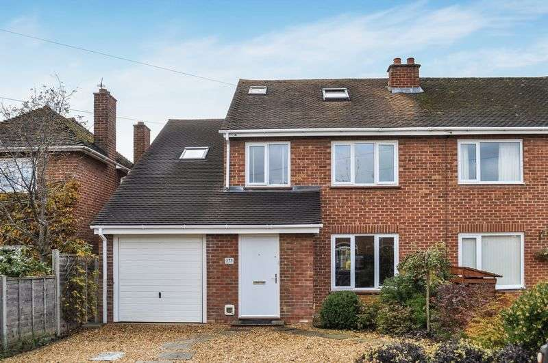 4 Bedrooms Semi Detached House for sale in South Avenue, Abingdon