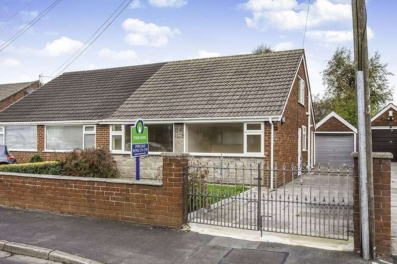 4 Bedrooms Semi Detached Bungalow for sale in Pasture Close, Ashton-In-Makerfield, Wigan, WN4