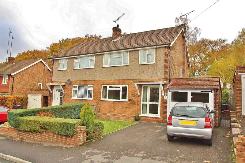 3 Bedrooms Semi Detached House for sale in Limewood Close, Woking, Surrey, GU21