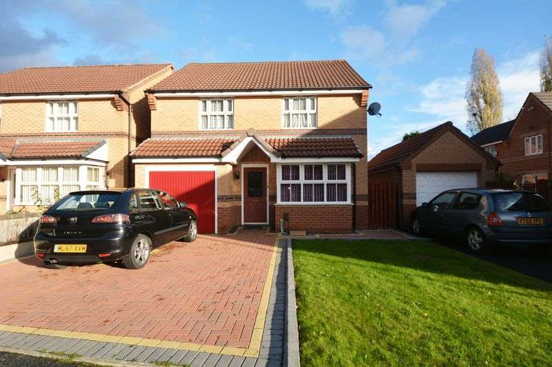 3 Bedrooms Detached House for sale in Harry Rowley Close, Woodhouse Park, Manchester
