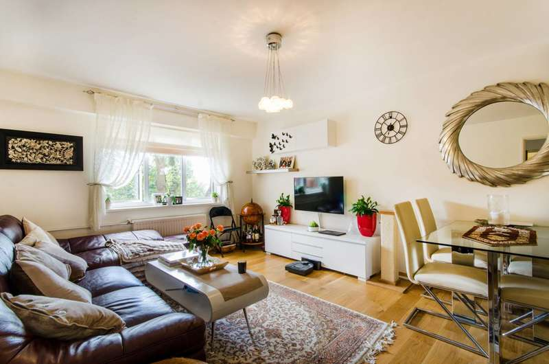 2 Bedrooms Flat for sale in Harben Road, Swiss Cottage, NW6