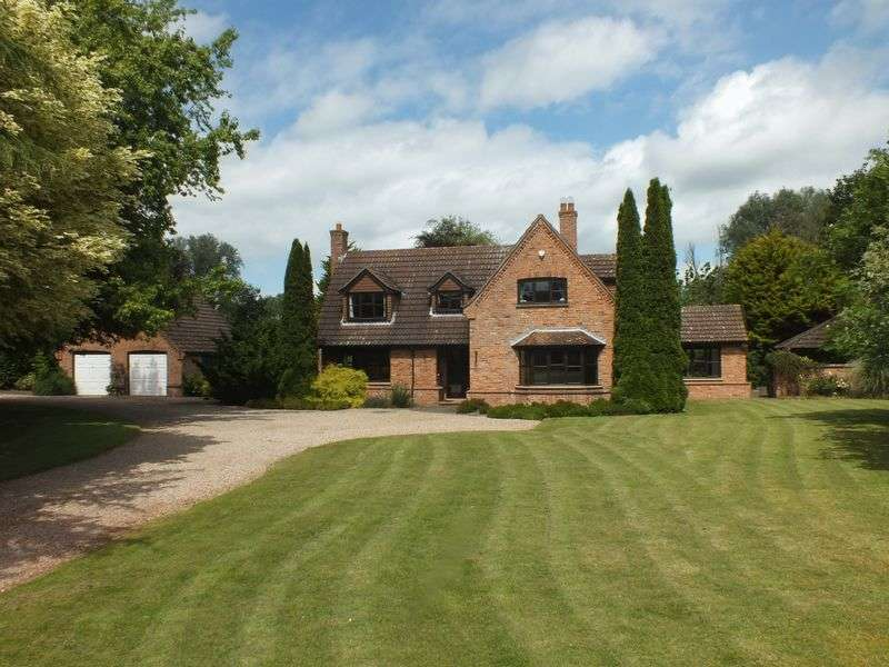 4 Bedrooms Detached House for sale in The Paddock, Church Lane, Kirkby-on-Bain, Woodhall Spa