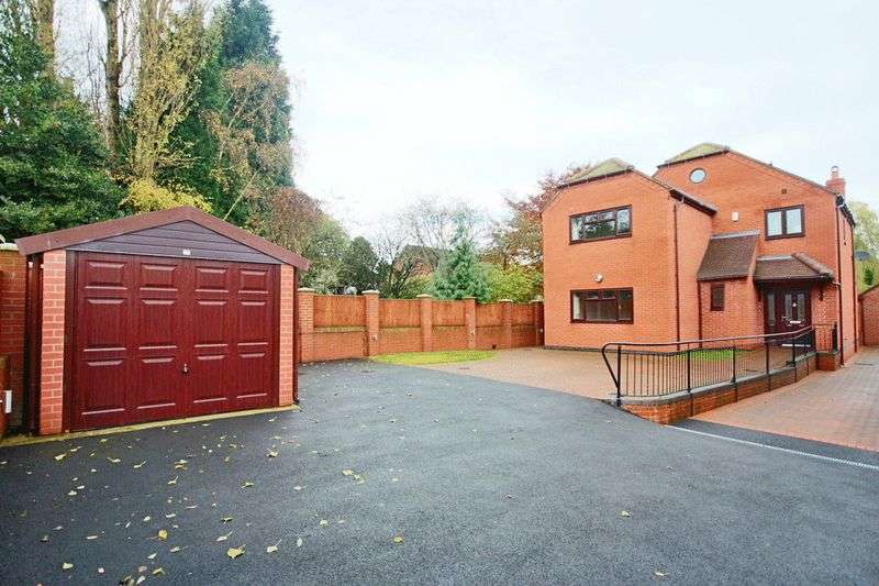 4 Bedrooms Detached House for sale in Moss Lane, Crewe