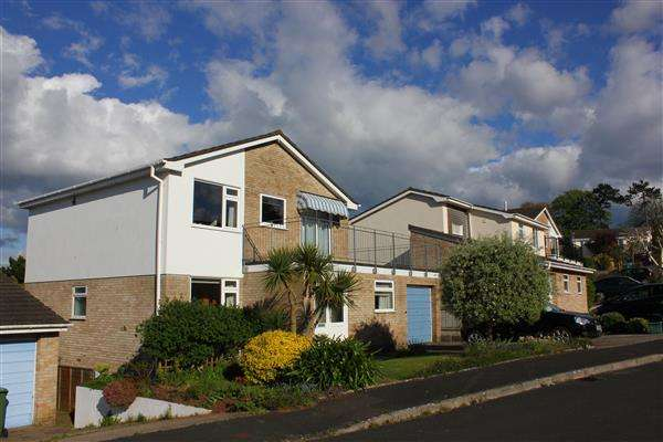 4 Bedrooms Detached House for sale in Lea Mount Close, Dawlish