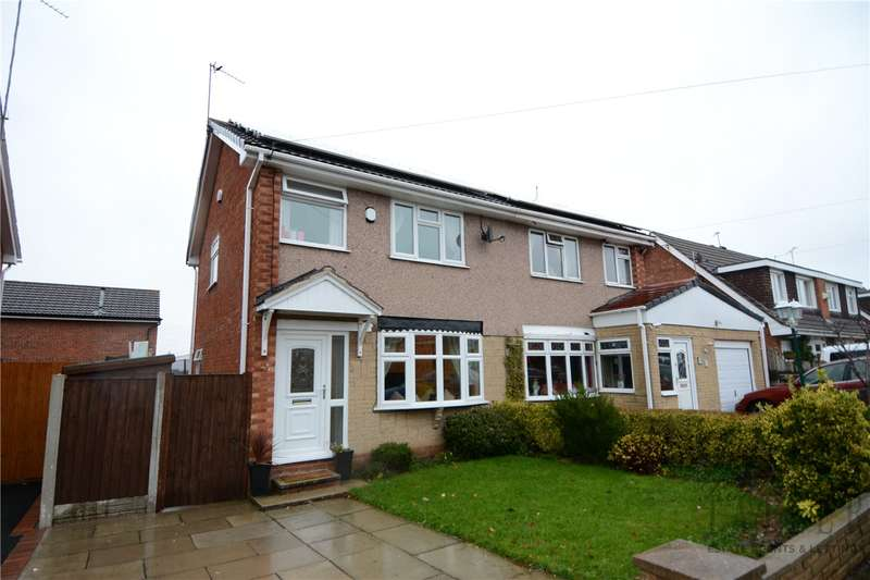 3 Bedrooms Semi Detached House for sale in Curlew Avenue, Upton, Wirral