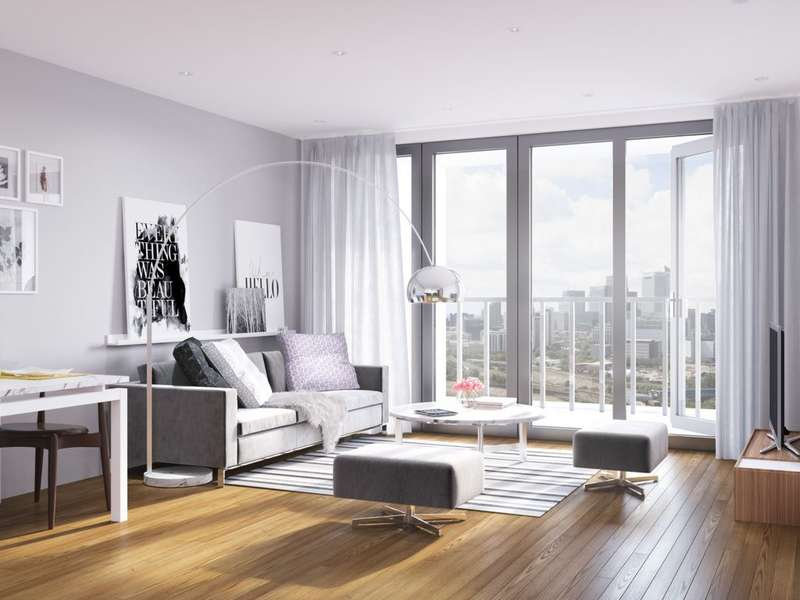 2 Bedrooms Apartment Flat for sale in Discovery Tower, Hallsville Quarter, Canning Town, E16