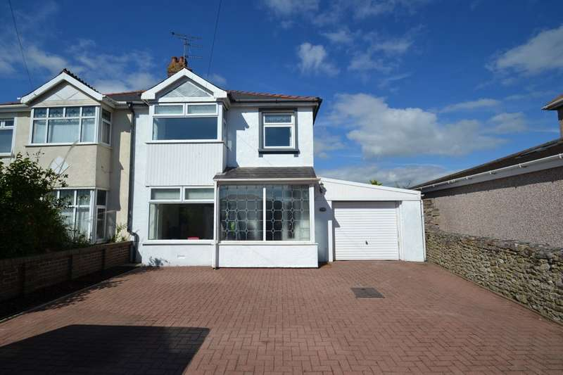 3 Bedrooms Semi Detached House for sale in 71 Newton Nottage Road, Newton, Porthcawl, Bridgend County Borough, CF36 5RR