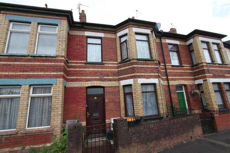 3 Bedrooms Terraced House for sale in Brynglas Road, Newport