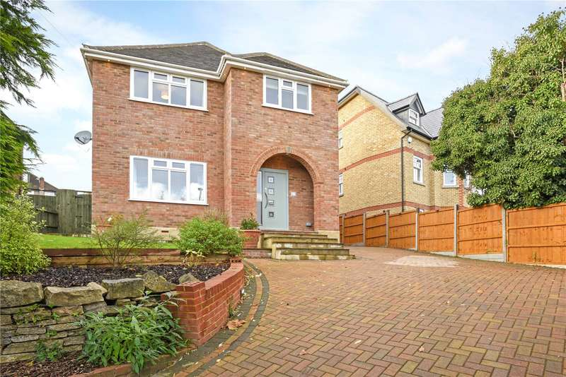 4 Bedrooms Detached House for sale in Kingston Road, Leatherhead, Surrey, KT22