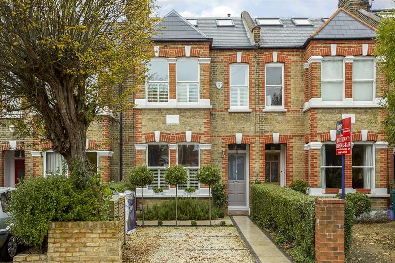 5 Bedrooms Terraced House for sale in Pepys Road, London, SW20