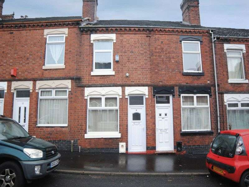 2 Bedrooms Terraced House for sale in Fenpark Road, Fenton, Stoke-On-Trent, ST4 3JT