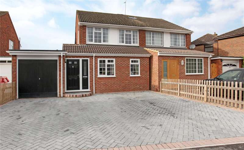 3 Bedrooms Semi Detached House for sale in Andermans, Windsor, Berkshire, SL4