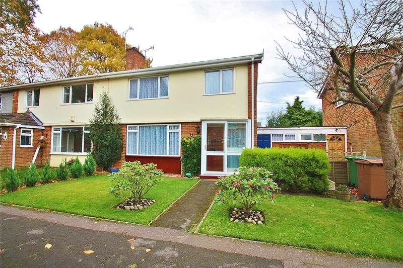 3 Bedrooms Semi Detached House for sale in South Road, Bisley, Woking, Surrey, GU24