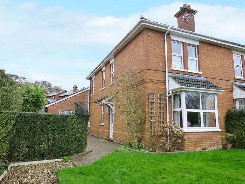 3 Bedrooms Semi Detached House for sale in Railway Cottages, Tidworth