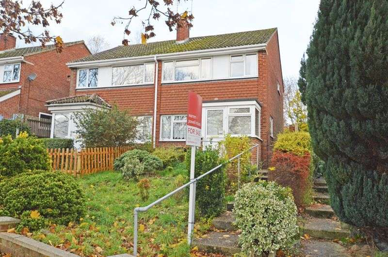 3 Bedrooms Semi Detached House for sale in Backing country, Greenfields area, Alton, Hampshire