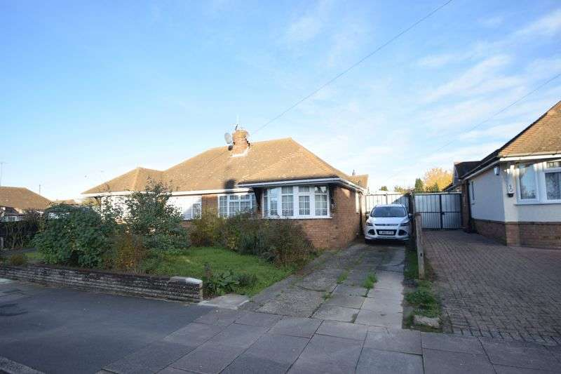2 Bedrooms Semi Detached Bungalow for sale in Byron Road, Luton