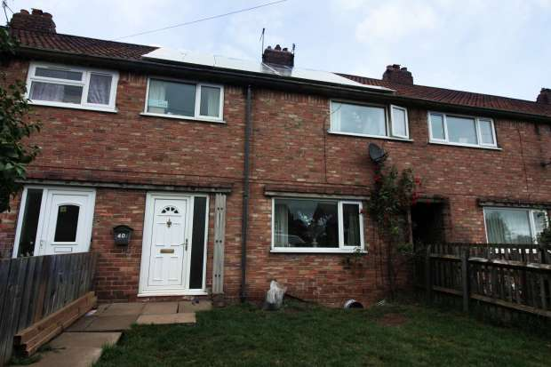 3 Bedrooms Terraced House for sale in High Garth, Scarborough, North Yorkshire, YO11 3EL